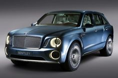 bentley exp9 F concept