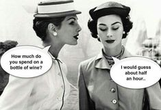 How much do you spend on a bottle of wine? #WineHumor