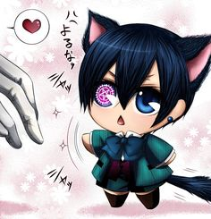 Neko! Black Butler x Reader Chapter 1 by thenoteofthedeath on ...