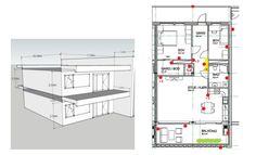 Отопление однми радиатором целого этажа Diagram, Floor Plans, Floor Plan Drawing, House Floor Plans