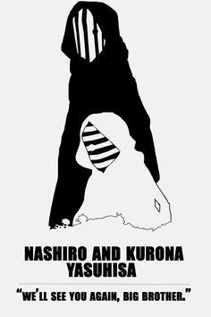 Tokyo Ghoul√A - Nashiro and Kurona Yasuhisa