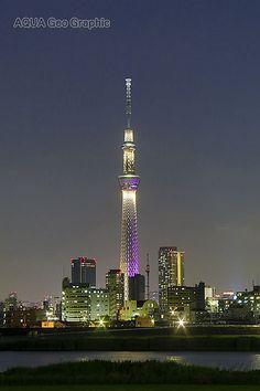 東京スカイツリー ライトアップ 「雅」 Tokyo Sky Tree Light-up Miyabi Countries Around The World, Around The Worlds, Tokyo Skyline, Emotion, Super Yachts, Japan Photo, Night City, Tokyo Japan, Aesthetic Photo