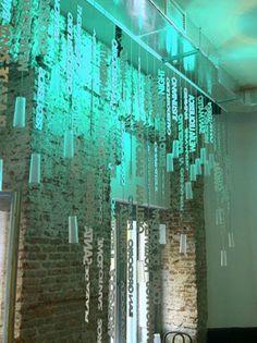 Instalación efímera para Nuevo Estilo Deco Open Night (Junio 2013)