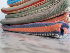 FABRIC-ating #fabric #weaving #handmade #cotton #rope #natural #kapatextiles #woven #loom #case #purse #colors