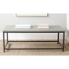 TRIBECCA HOME Dixon Rustic Oak Industrial Occasional Table | Overstock.com Shopping - The Best Deals on Coffee, Sofa & End Tables