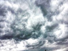 Storm clouds (processed just a wee (ahem) bit to enhance the HOLY CRAP factor) #sky #clouds #storm