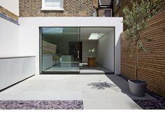contemporary rear extension