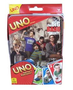 Big bang theory uno - have this too! And it's much better than the original! haha