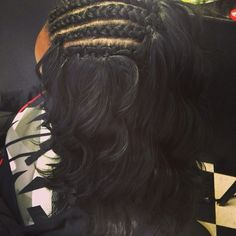 #Crochet #Braiding.....where I been at I didn't know you can made it look like human hair