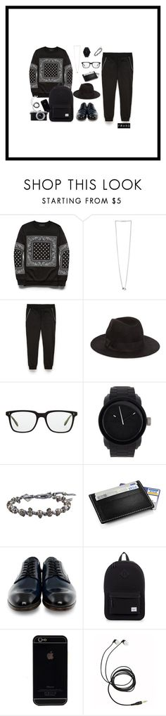Blackout by farhanoid on Polyvore featuring Paul Smith, Stelton, M. Cohen, Diesel, Oliver Peoples, 21 Men and Panasonic