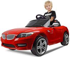 BMW Z4 für Kinder. Der sportliche Cabrio von BMW nun auch für zuhause. Kinderelektroauto mit Fernbedienung.  BMW Z4 in Rot von www.cars-4-kids.de