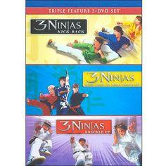 3 Ninjas Triple Feature: 3 Ninjas Kick Back / 3 Ninjas: Knuckle Up / 3 Ninjas: High Noon At Mega Mountain (Full Frame): Movies : Walmart.com