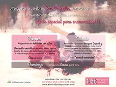 Buenas tardes de lunes.... ¿Tenéis plan para San Valentín? ¡Qué te parece sorprender a tu pareja este año con una escapada romántica en un #hotel rural de #Asturias! Aprovecha nuestra oferta especial!!!  Información y reservas +34 985 721 020 / 653 938 156 http://www.elmiradordeordiales.com/ consulta@elmiradordeordiales.com  #hotelruralAsturias #hotelrural #hotelconencanto #sanvalentin #escapadassanvalentin2015