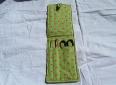 Crochet Hook Case Crochet Hook Holder Crochet Hook Organizer Crochet Needle Case to go by CountryCrafting on Etsy