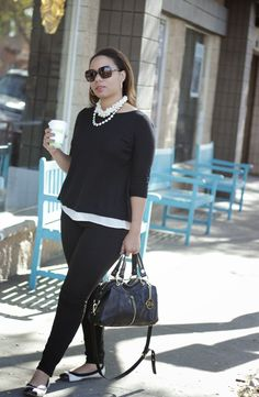 Curvy, Petite Outfit Ideas | Professional and Casual-Chic Outfit Inspiration | Petite Career Girl: A Few Days in So Cal!