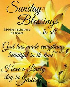 488 Best @Sunday Morning Blessings images | Morning ...