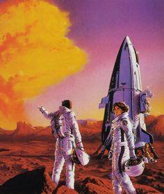 sci fi art 60's -