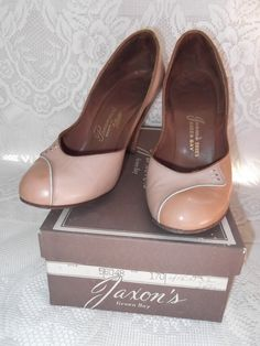 Vintage+1940s+1950s+Shoes+With+Original+by+TimelessTreasuresVCB,+$38.00
