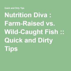 Best us wild caught or farm raised shrimp recipe on pinterest for Farmed fish vs wild