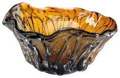 Cyan Design 04241 Duo Art Glass Bowl contemporary-decorative-bowls