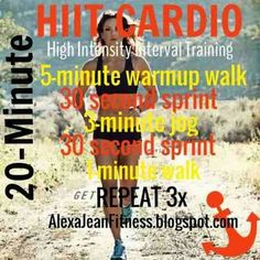Fitness & Health: Beginner HIIT // 20 Minute Cardio
