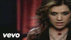 Kelly Clarkson - Since U Been Gone ... #KrissyGirl cause you have a little Kelly streak and remember when I tried to do your eye make-up like Kelly's in this video?? You didn't like it. :p
