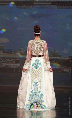 Haute couture caftan