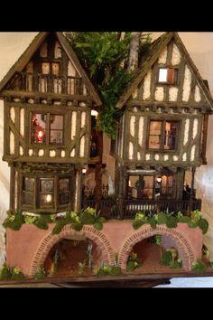 Miniature Tudor House