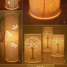 Beautiful DIY Paper Lamps
