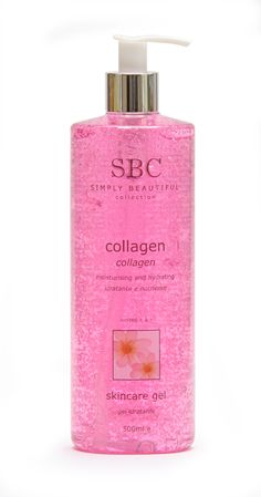 SBC Collagen Skincare Gel is a youth-renew moisturising face and body gel to help address the appearance of fine lines and wrinkles and restore moisture to dry, dehydrated skin. Containing Marine Collagen, this sophisticated moisturiser can help soften, hydrate and soothe skin and may help diffuse the signs of ageing for a rejuvenated, youthful appearance. Recommended for deeply dehydrated skin, with a dry tendency.