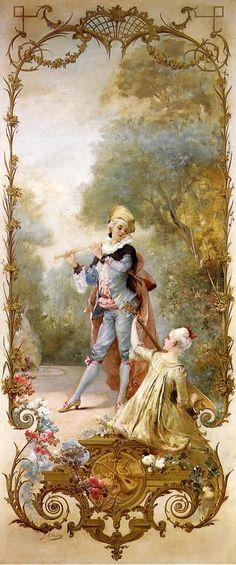 Elegance Georges Jules Victor Clairin: