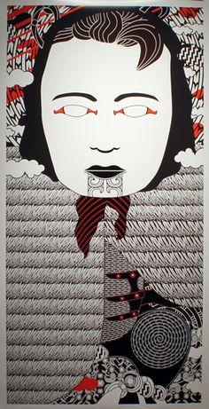 Ko Aotearoa Tenei by Johnson Witehira //Whina Cooper Maori Patterns, Graphic Patterns, Maori Designs, New Zealand Art, Nz Art, Maori Art, Creative Background, Kiwiana, Bone Carving