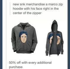 Marco hoodie - Attack on Titan