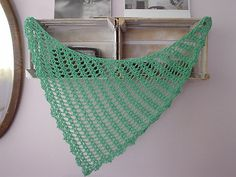 Fernanda scarf or shawl pattern, free written pattern with charts on Ravelry