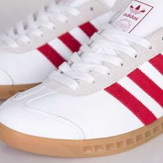"adidas Originals Hamburg ""White & Uni Red"""