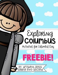 Columbus Day Activities - Sailing into Second