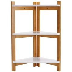 Buy 3 Tier Two Tone Corner Shelf Unit at Argos.co.uk, visit Argos.co.uk to shop online for Bathroom shelves and units