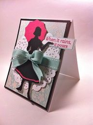 Courtney Lane Designs: When it rains it pours card made using the Suburbia cartrodge.