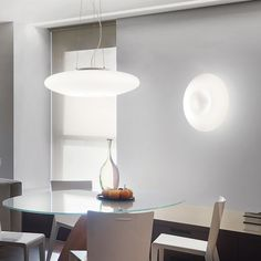 A simple yet stunning curved wall light. Recessed Wall Lights, Ceiling Lights, Wall Sconce Lighting, Wall Sconces, Led Light Fixtures, Light Pull, Glass Diffuser, Wall Lantern, Pendant Lamp