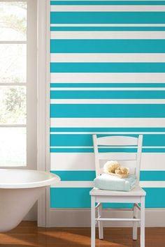 Stripe Wall Decal - Calypso