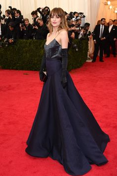 Dakota Johnson--Met Gala...she will be stunning as Ana in 50 Shades of Grey.....