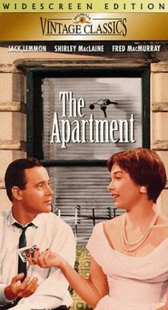 "Host a vintage movie night showing the 1960 film ""The Apartment"" with Shirley Mclaine and Jack Lemmon -- I hear it's a good one!"