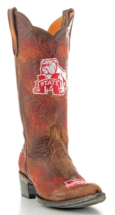 Womens Mississippi State Boots