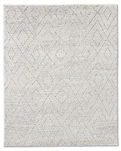 Double Diamond Moroccan Wool Rug Collection | RH