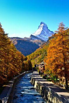 The Matterhorn in Zermatt, Canton of Valais | Switzerland
