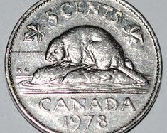 Items similar to Hopping Rabbit Canadian 1967 Nickel Coins on Etsy George Vi, Canadian Confederation, Canadian Coins, Alex Colville, 5 Cents, Old Coins, Canadian Artists, Coin Collecting, Rabbit