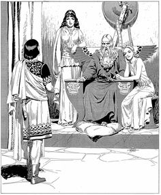 Harold Foster better known as Hal Foster, was a Canadian-American comic book artist and writer best known as the creator of the comic strip Prince Valiant. Comic Book Artists, Comic Artist, Comic Books Art, The Fosters, Tracing Art, Black And White Comics, Comic Kunst, Fantasy Comics, Bd Comics