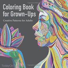 Coloring Book For Grown Ups Creative Patterns Adults Stress Relieve New