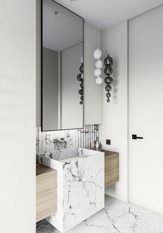 64 Adorable Bathroom Tile Design Ideas And Decor bathroom tile ideas, bathroom decoration, moder bathroom design, small bathroom ideas Contemporary Office, Rustic Contemporary, Contemporary Bathrooms, Modern Bathroom, Contemporary Landscape, Contemporary Building, Rustic Modern, Contemporary Architecture, Contemporary Chandelier