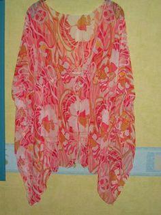 Voilà un tuto pour réaliser une tunique ample, idéale à mettre au dessus du maillot de bain à la plage Voilà le tuto :